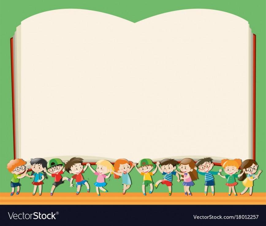 005 Dreaded Book Template For Kid Idea  Kids