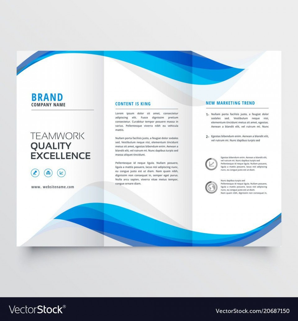 005 Dreaded Brochure Template Free Download Inspiration  For Word 2010 Microsoft Ppt960
