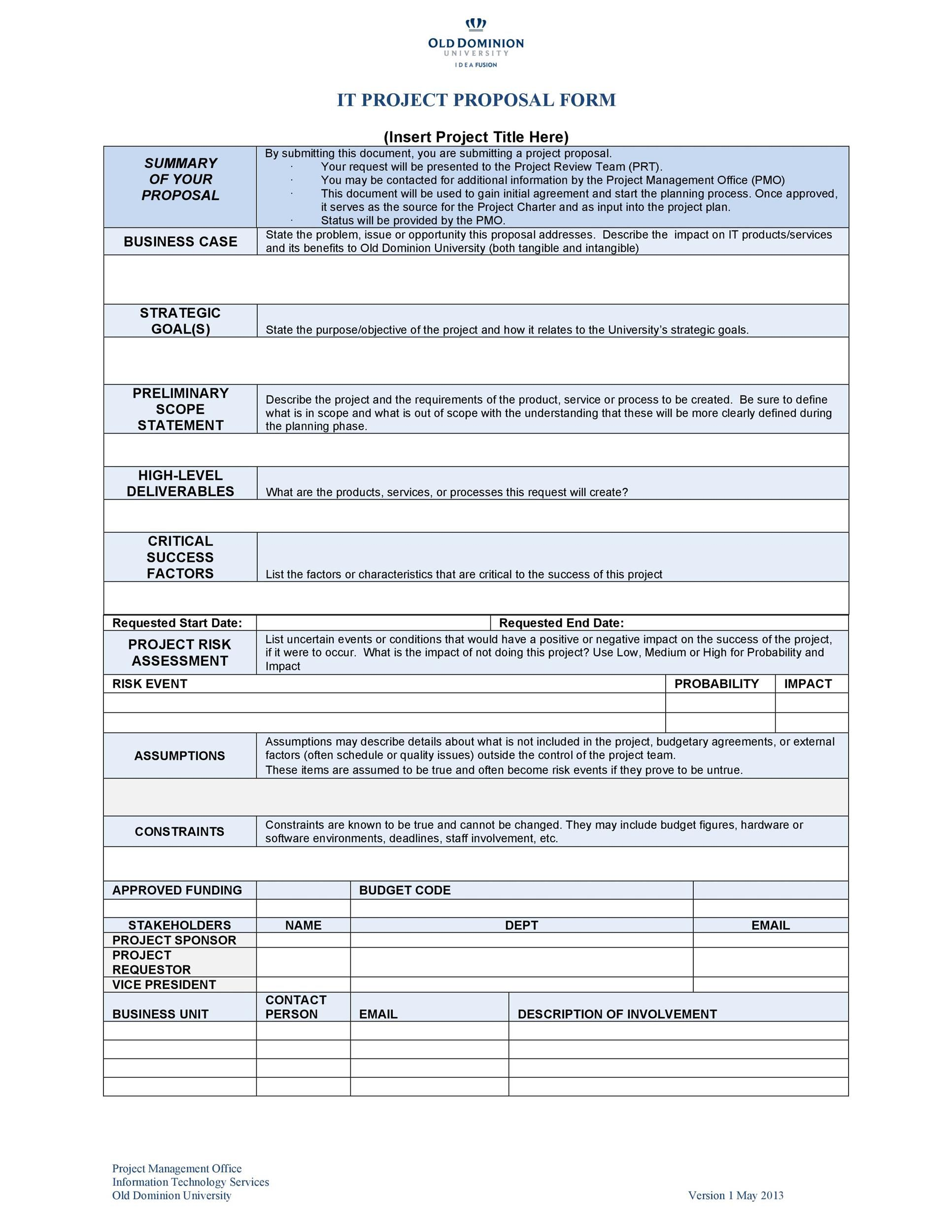 005 Dreaded Busines Proposal Sample Pdf Free Download Inspiration  ProjectFull