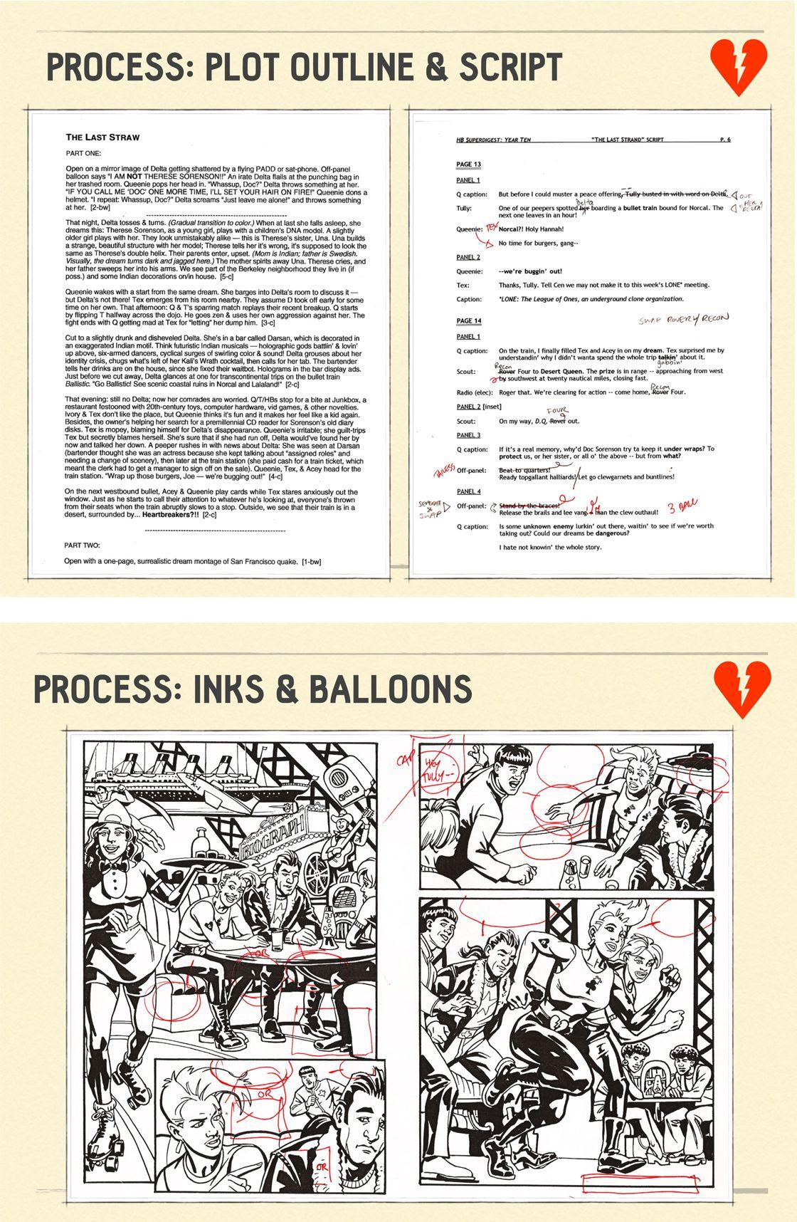 005 Dreaded Comic Book Script Sample Image  Marvel CeltxFull