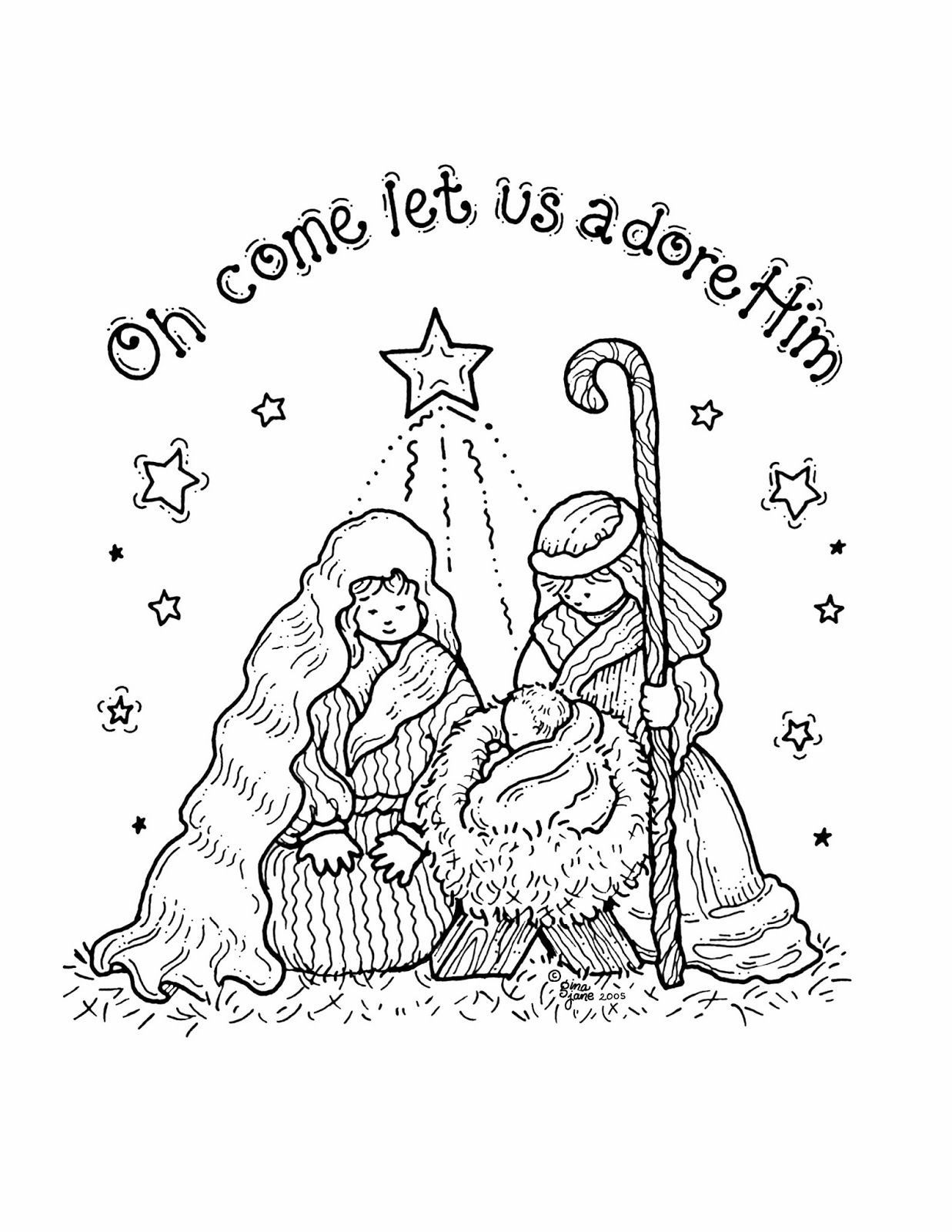 005 Dreaded Free Printable Religiou Christma Card Template Concept  TemplatesFull