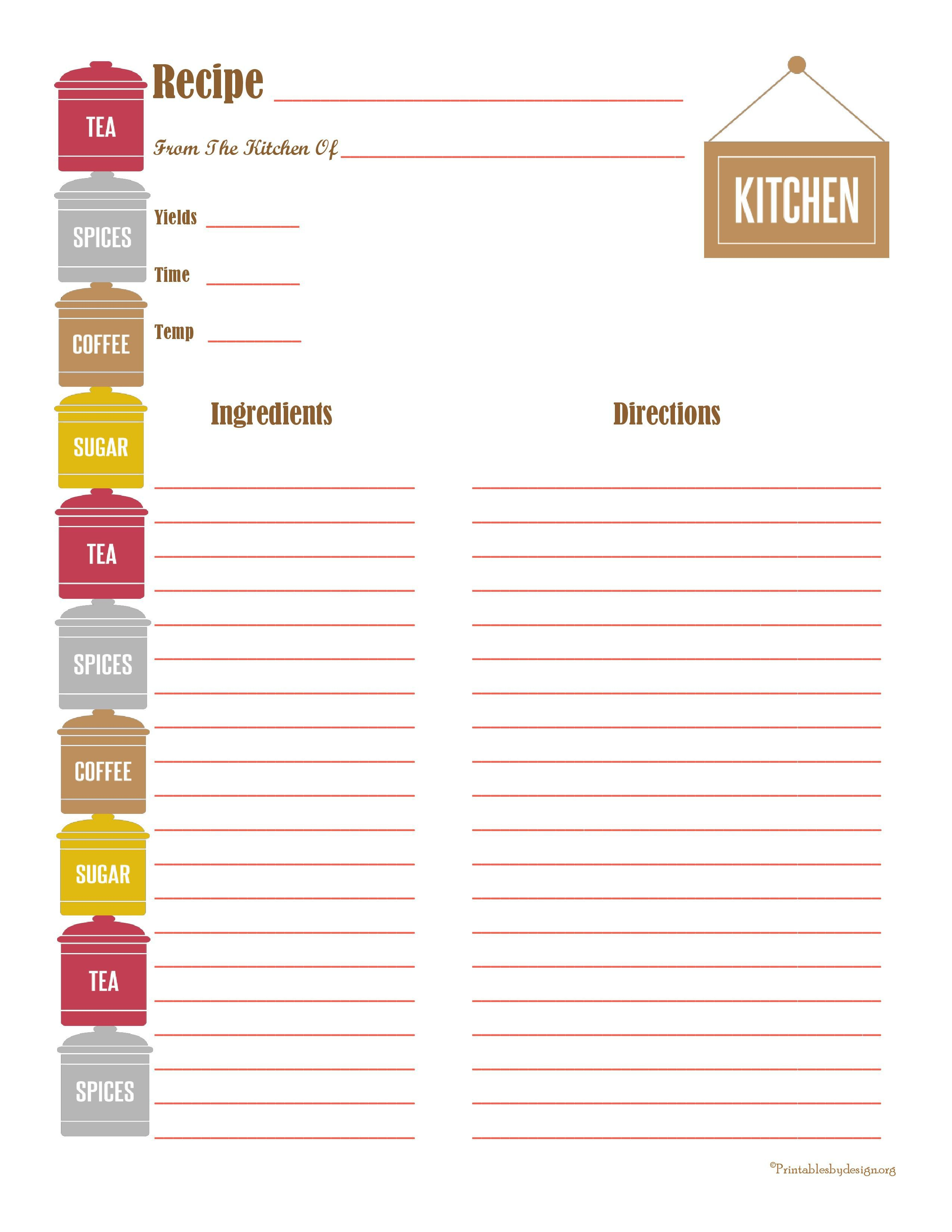 005 Dreaded Free Recipe Book Template High Def  Editable Cookbook For Microsoft Word IndesignFull