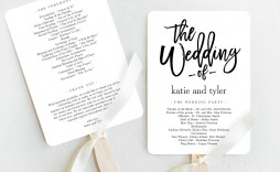 005 Dreaded Free Wedding Program Fan Template High Definition  Templates Printable Paddle Word
