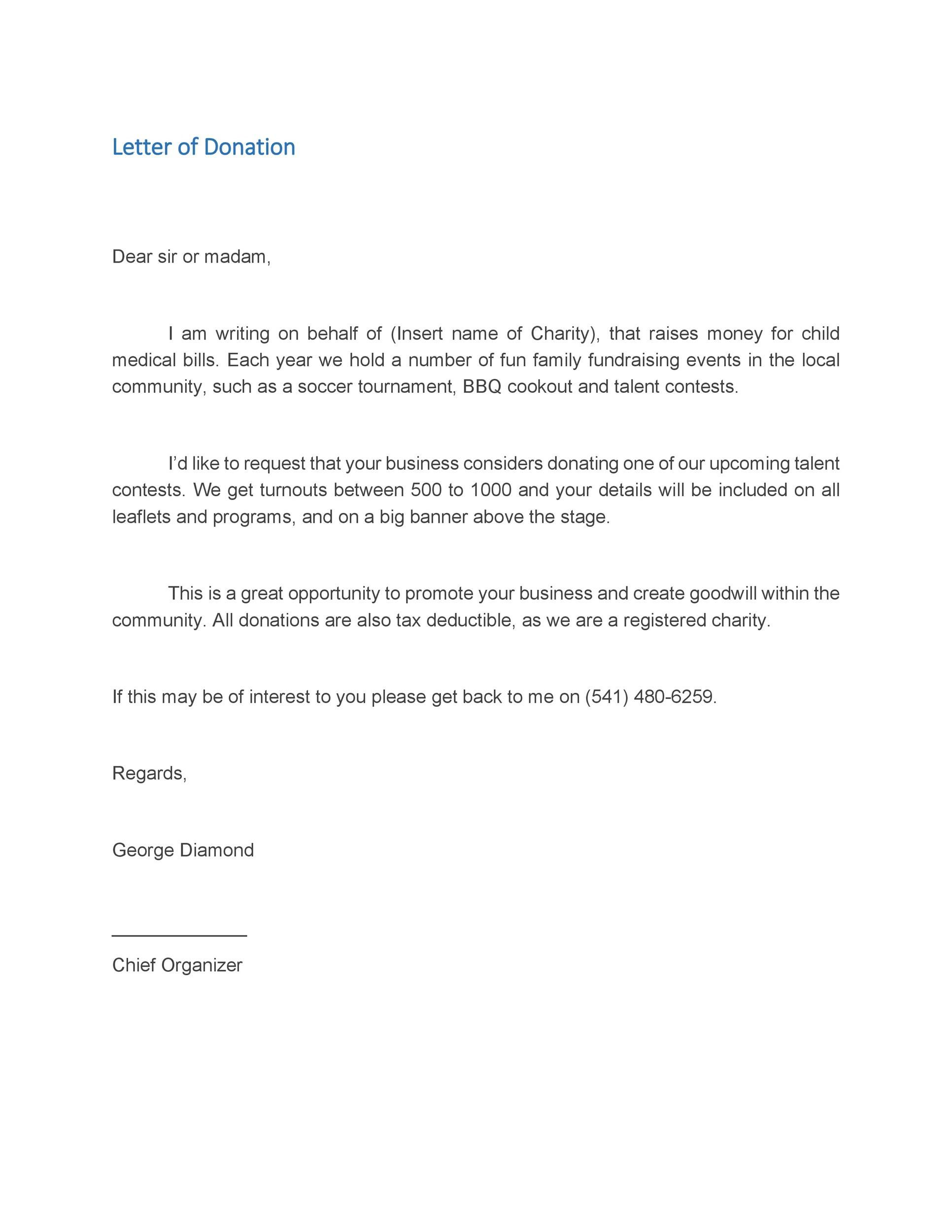 005 Dreaded Fund Raising Letter Template Sample  Templates Example Of Fundraising Appeal For Mission Trip UkFull