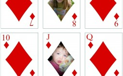 005 Dreaded Playing Card Template Free Download Idea  Blank