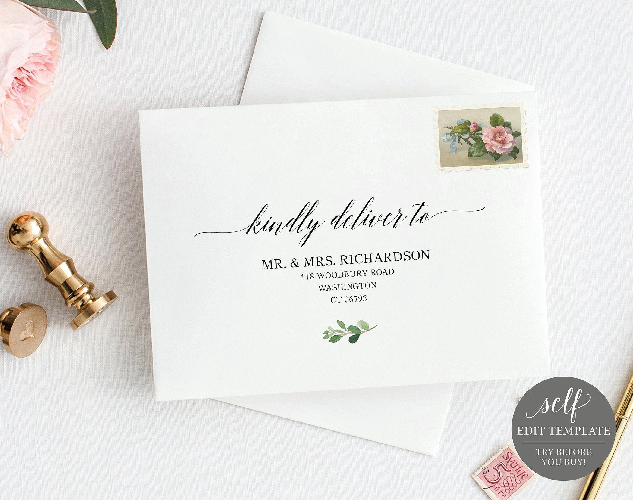 005 Dreaded Wedding Addres Label Template Concept  Free PrintableFull