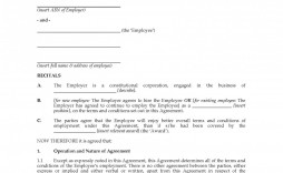 005 Excellent Australian Employment Contract Template Free High Definition