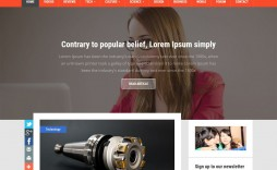 005 Excellent Best Free Responsive Blogger Template For Education Example