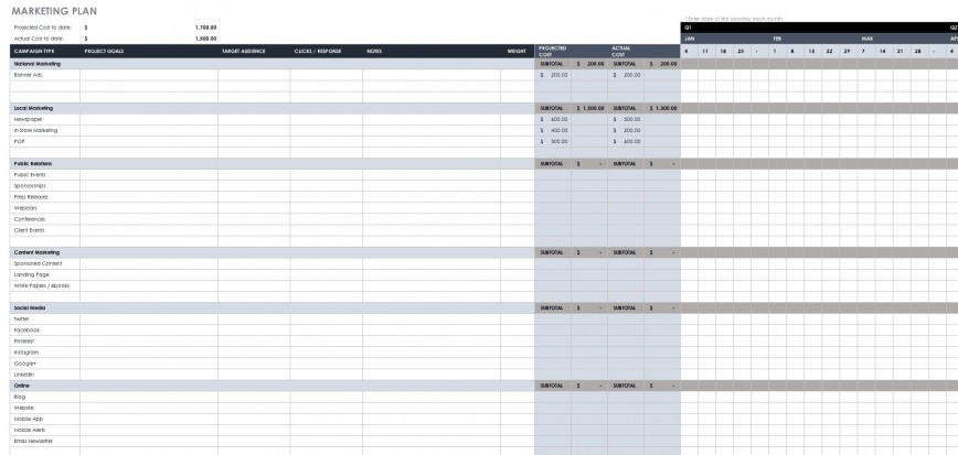 005 Excellent Busines Plan Template Excel Image  Free Continuity Download