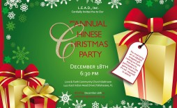 005 Excellent Christma Party Invite Template Word Design  Holiday Free Invitation Wording Example