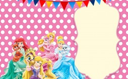 005 Excellent Disney Princes Invitation Template Inspiration  Downloadable Party Free Printable Birthday
