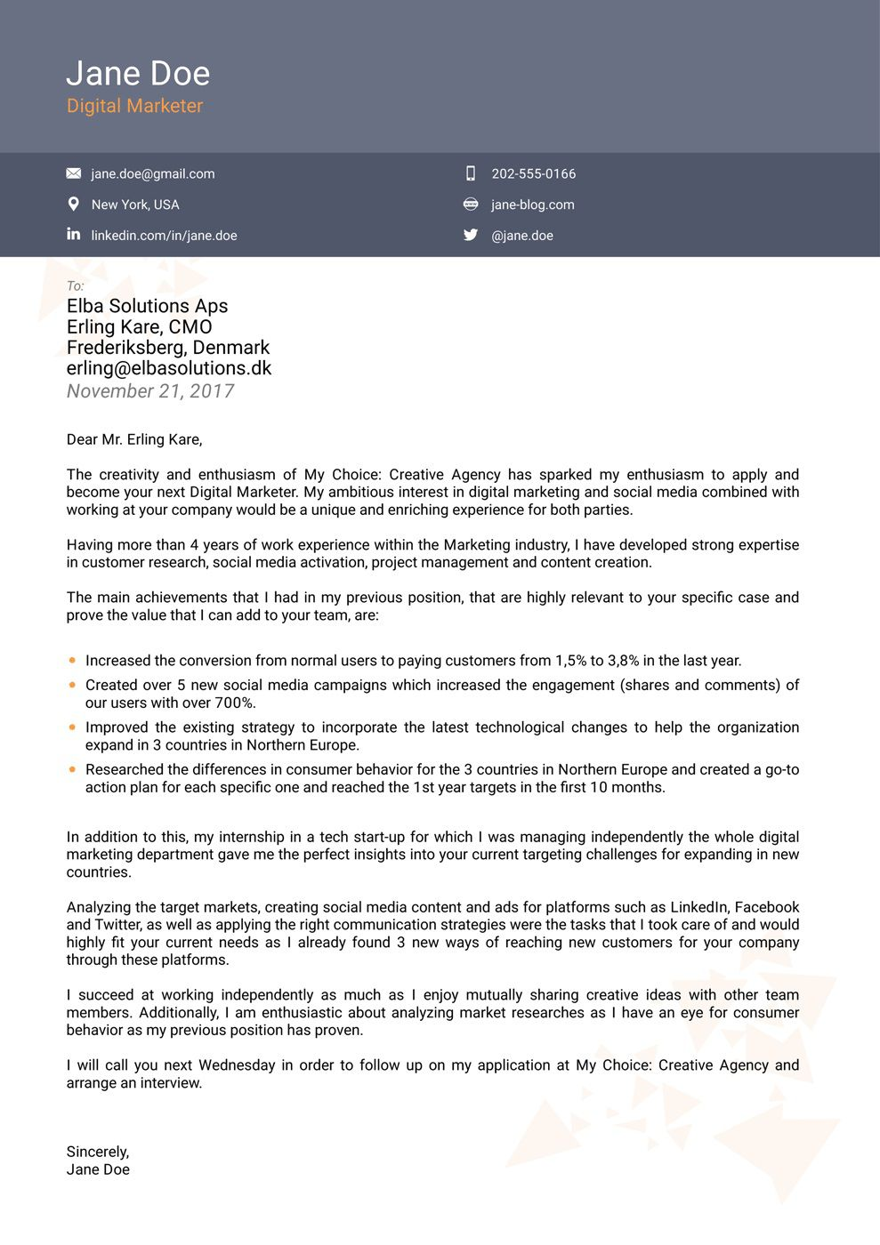 005 Excellent Download Cover Letter Template Example  Templates Free Microsoft WordFull