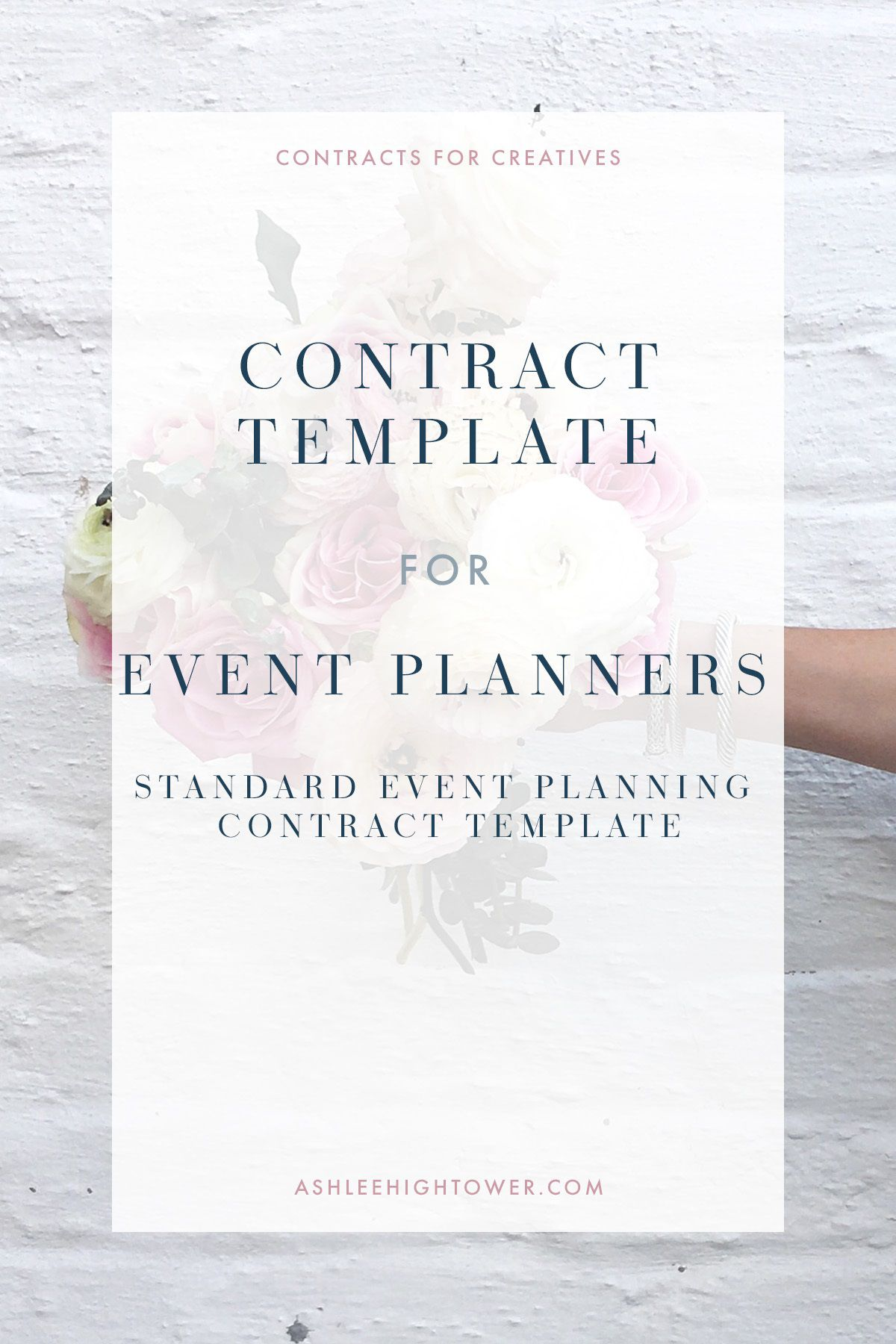 005 Excellent Event Planner Contract Template Picture  Free Download PlanningFull