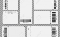 005 Excellent Free Printable Ticket Template Sample  Cruise Raffle Printing
