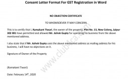 005 Excellent Letter Of Understanding Format In Gst Inspiration