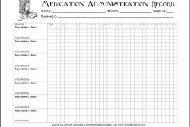 005 Excellent Medication Administration Record Form Download Highest Quality
