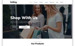 005 Excellent Product Website Template Html Free Download Example  With Cs