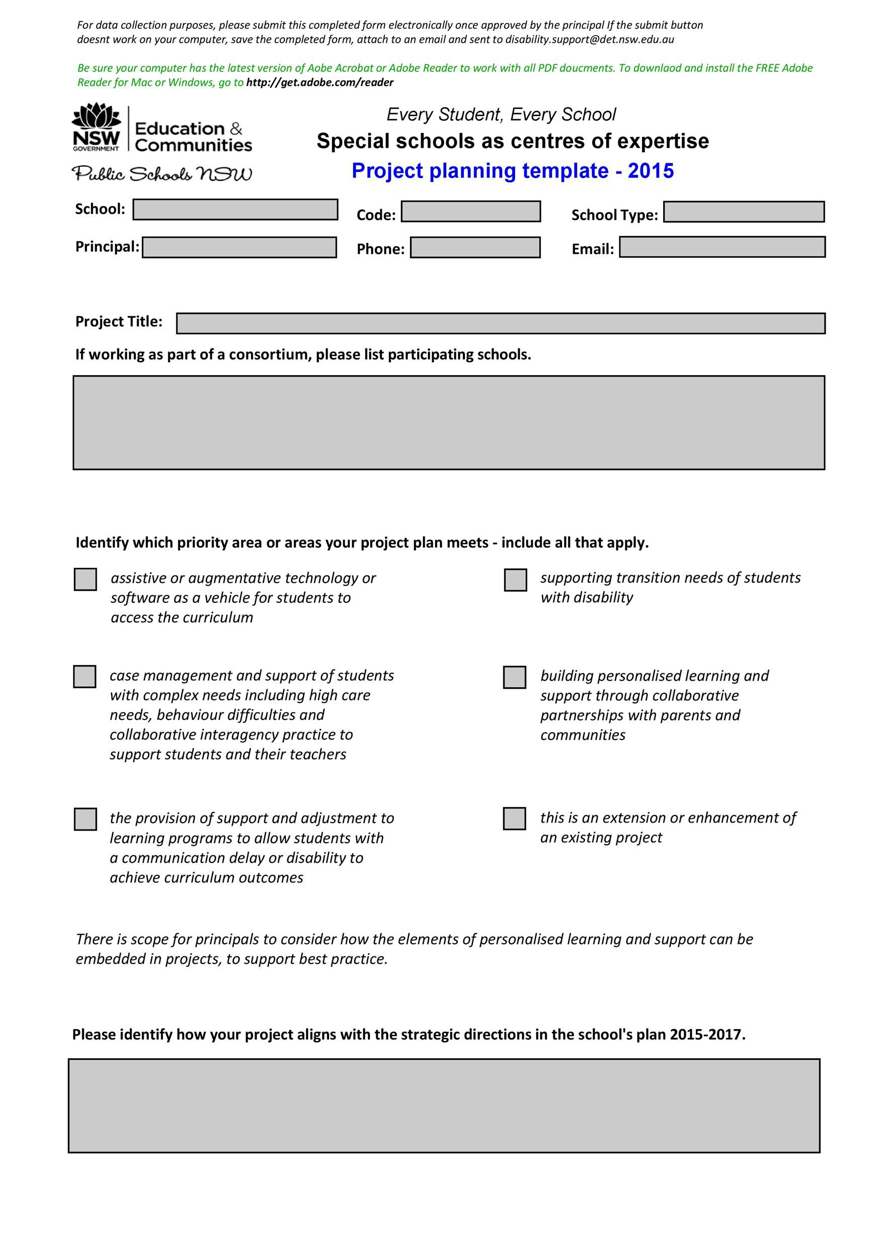 005 Excellent Project Management Template Free Pdf Example Full