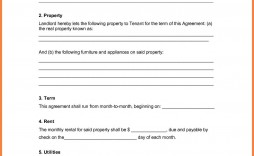 005 Excellent Rental Agreement Template Doc Concept  Tenancy Uk Word Document