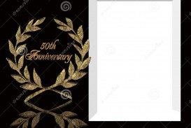 005 Exceptional 50th Anniversary Invitation Template Image  Wedding Microsoft Word Free Download