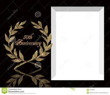 005 Exceptional 50th Anniversary Invitation Template Image  Wedding Microsoft Word Free Download360