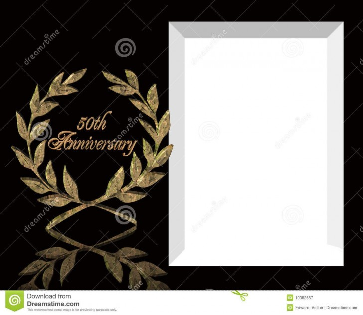005 Exceptional 50th Anniversary Invitation Template Image  Wedding Microsoft Word Free Download728