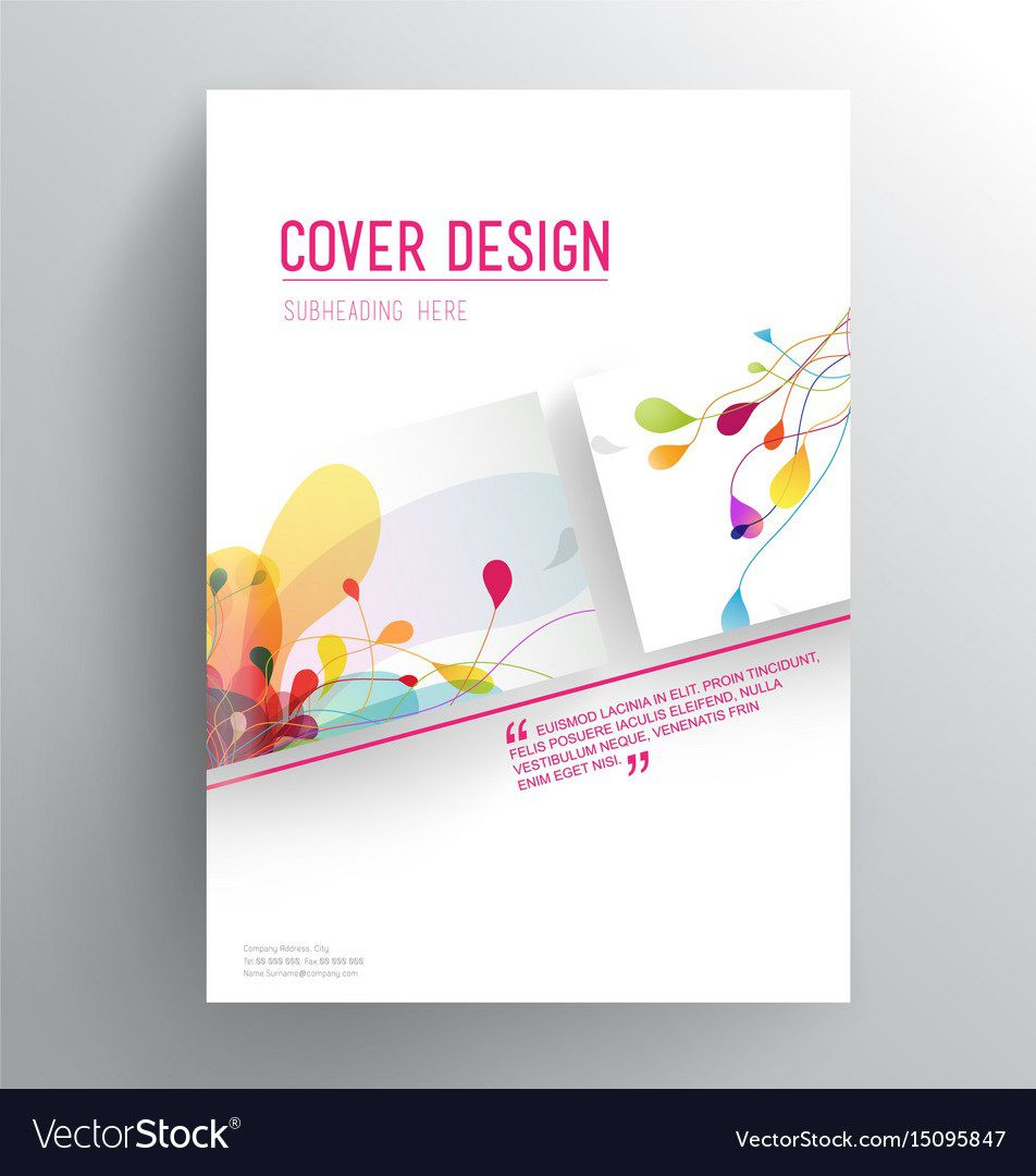 005 Exceptional Book Front Page Design Template Free Download Example  Cover PsdFull