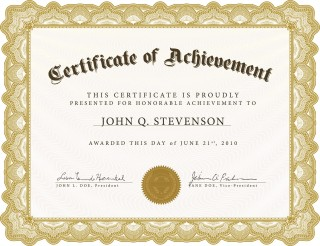 005 Exceptional Certificate Of Award Template Word Free Photo 320