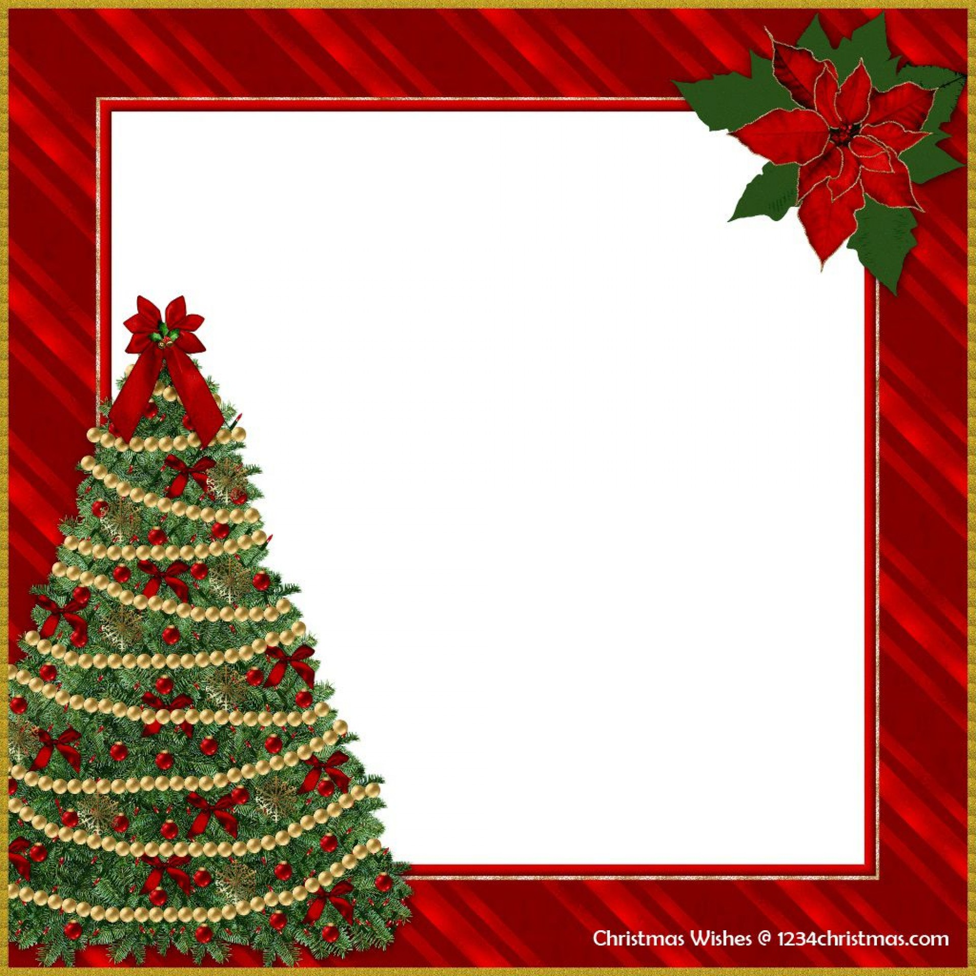 005 Exceptional Christma Template Free Download High Def  Word Editable Card Tree1920