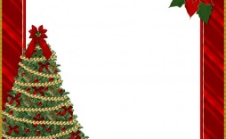 005 Exceptional Christma Template Free Download High Def  Word Editable Card Tree