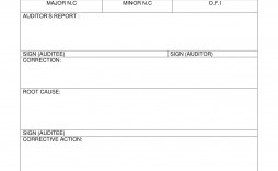 005 Exceptional Corrective Action Report Template Idea  Doc 8d Format Pdf