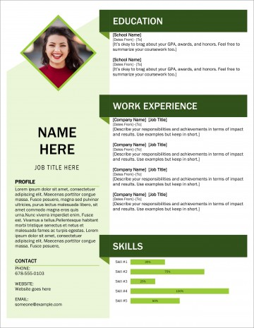 005 Exceptional Download Resume Template Word 2007 High Def 360