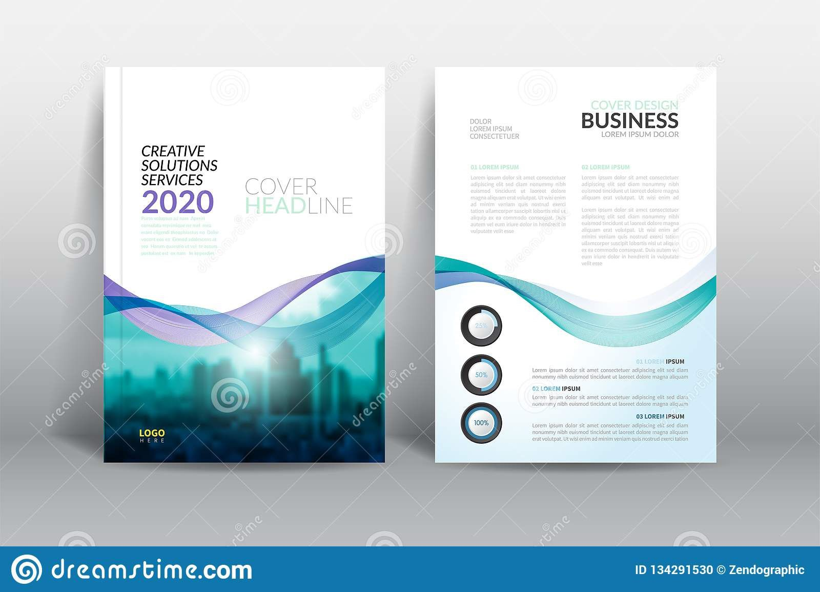 005 Exceptional Free Download Annual Report Cover Design Template Example  Indesign In WordFull