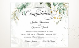 005 Exceptional Free Marriage Certificate Template High Def  Renewal Translation From Spanish To English Wedding Download