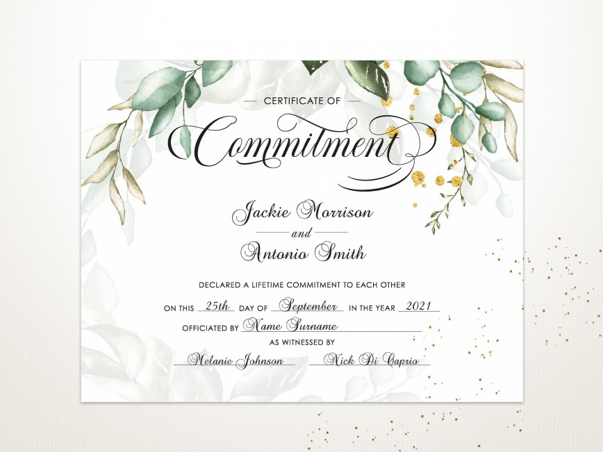 005 Exceptional Free Marriage Certificate Template High Def  Online Translation Wedding Download