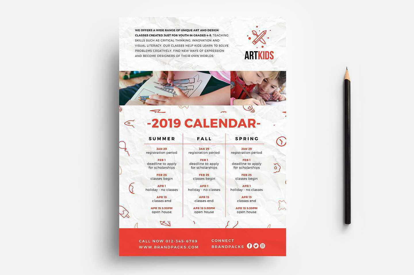 005 Exceptional Free School Flyer Template Word Example  For Microsoft Education Back ToFull