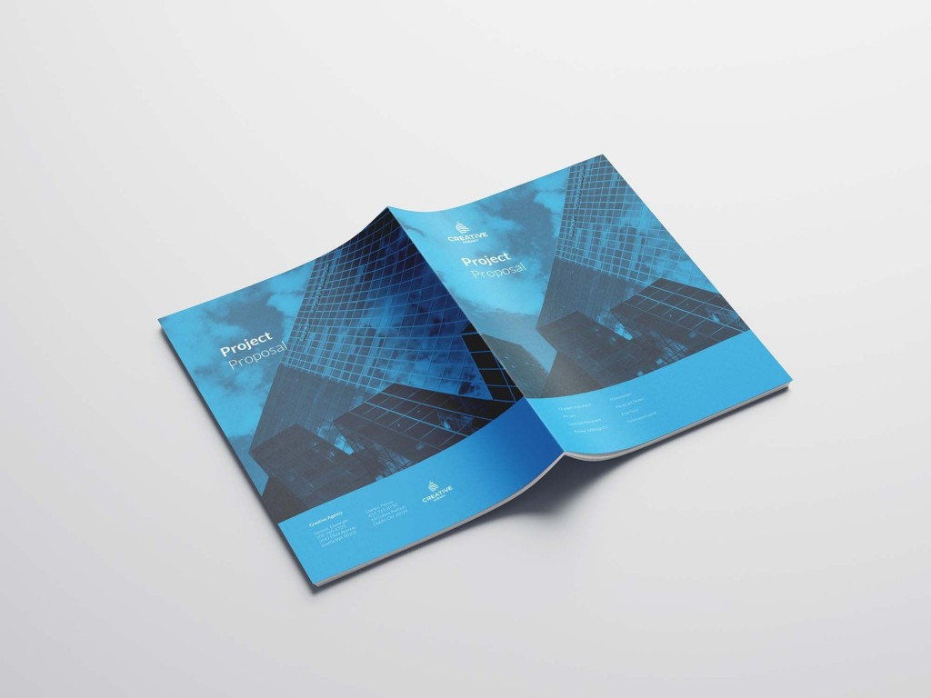 005 Exceptional Graphic Design Proposal Template Indesign Sample  FreeLarge