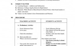 005 Exceptional Lesson Plan Template High School Math Definition  Example For Free