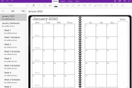 005 Exceptional Onenote Project Management Template Free Sample  Download