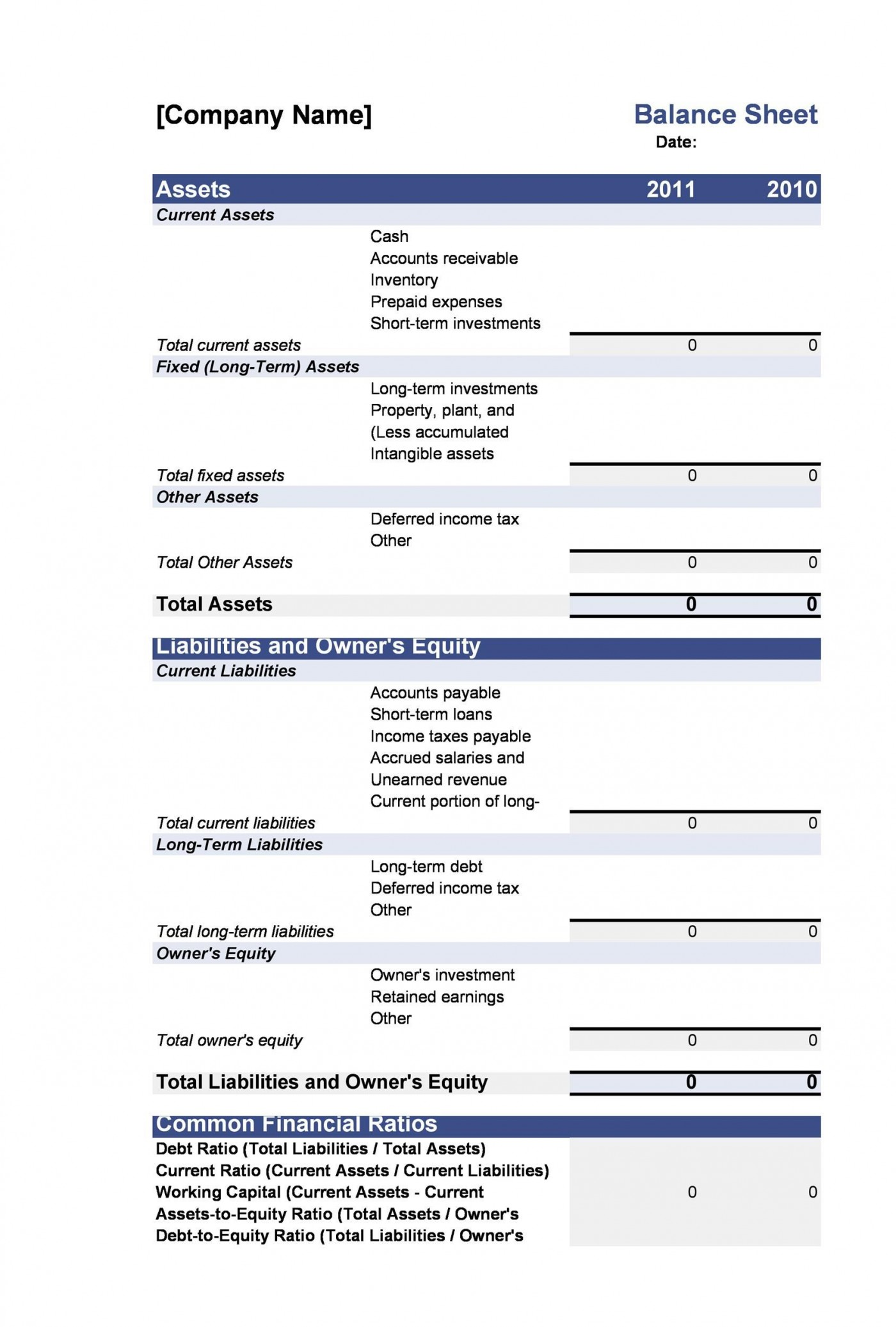 005 Exceptional Simple Balance Sheet Template High Resolution  Example For Small Busines Sample A Church1400