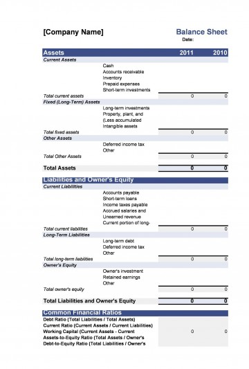 005 Exceptional Simple Balance Sheet Template High Resolution  Example For Small Busines Sample A Church360