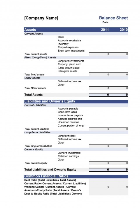 005 Exceptional Simple Balance Sheet Template High Resolution  Example For Small Busines Sample A Church480