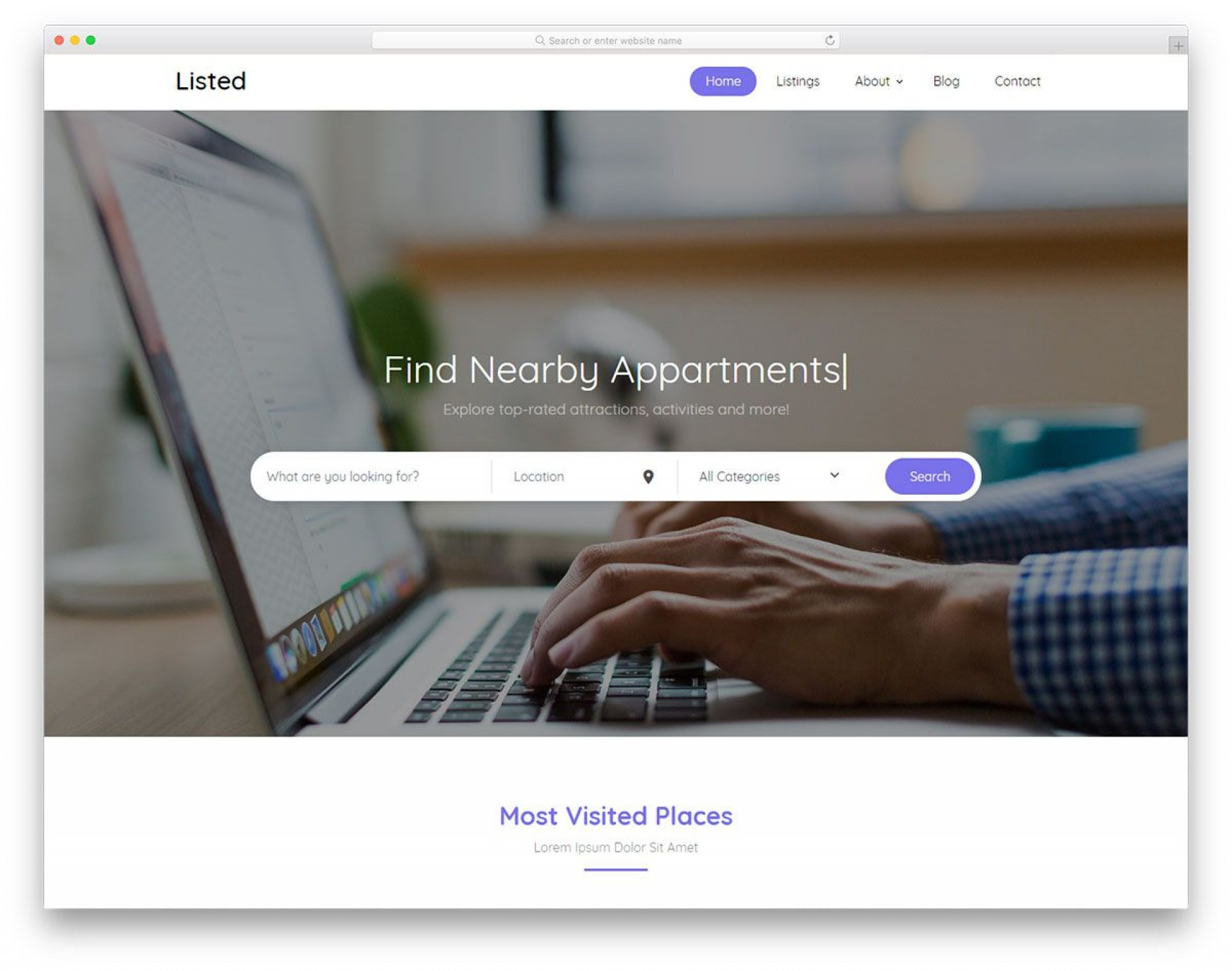 005 Exceptional Simple Html Responsive Website Template Free Download Design  With Cs Bootstrap1920
