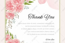 005 Exceptional Thank You Card Template Idea  Wedding Busines Word Free