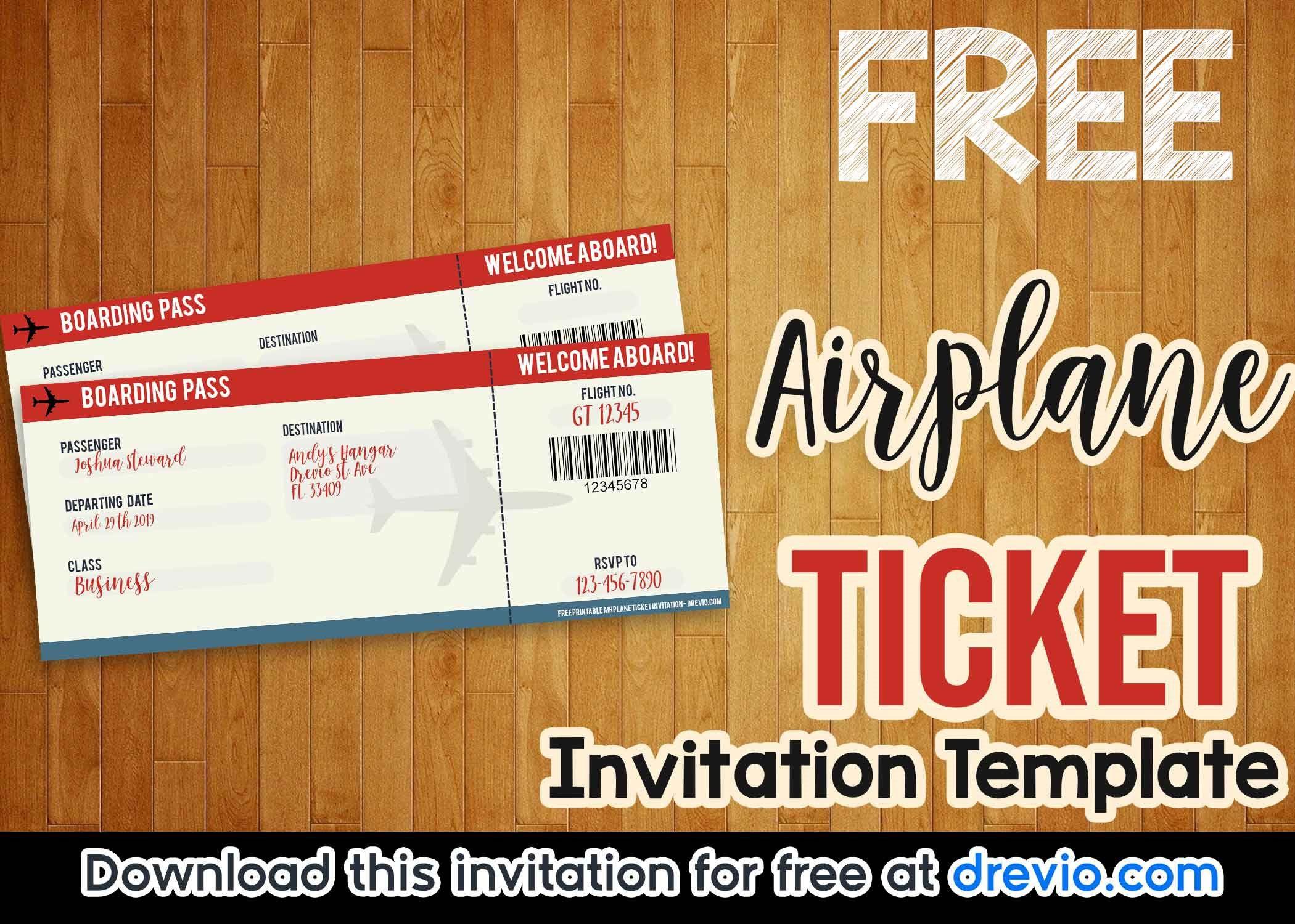 005 Exceptional Ticket Invitation