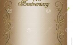 005 Fantastic 50th Wedding Anniversary Invitation Template Free Download Idea  Golden