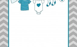 005 Fantastic Baby Shower Invitation Template Microsoft Word Design  Free Editable