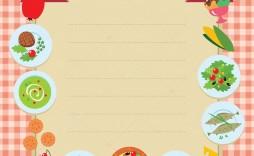 005 Fantastic Blank Restaurant Menu Template Sample  Free Printable Downloadable