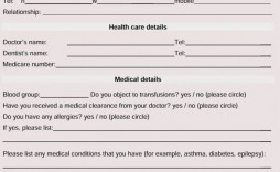 005 Fantastic Family Medical History Template Free High Def  Questionnaire