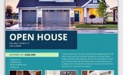 005 Fantastic Open House Flyer Template Free High Definition  Microsoft Word School Christma